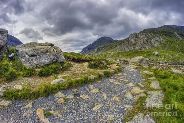 Photograph - Ramblers Path To Tryfan by Ian Mitchell