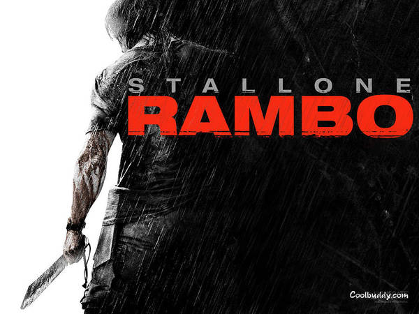 Wall Art - Digital Art - Rambo by Mery Moon