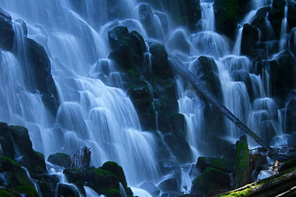 Photograph - Ramona Falls In Close by Todd Kreuter