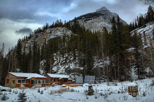 Photograph - Rampart Creek Hostel by Adam Jewell