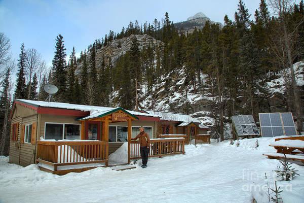 Photograph - Rampart Creek Wilderness Hostel by Adam Jewell
