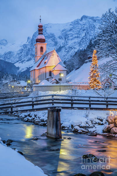 Wall Art - Photograph - Ramsau Winter Wonderland by JR Photography