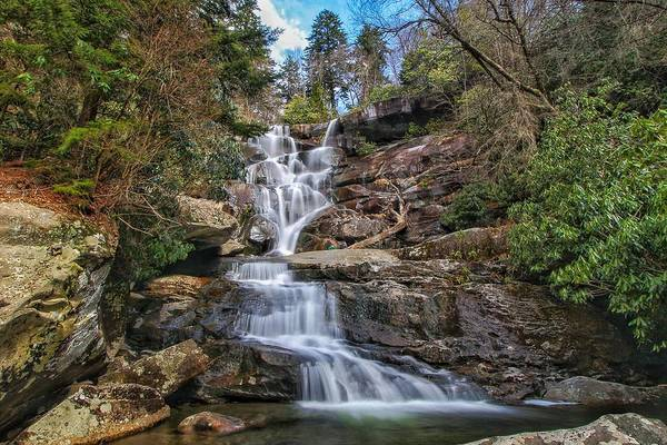 Photograph - Ramsey Cascades - Tennessee Waterfall by Chris Berrier