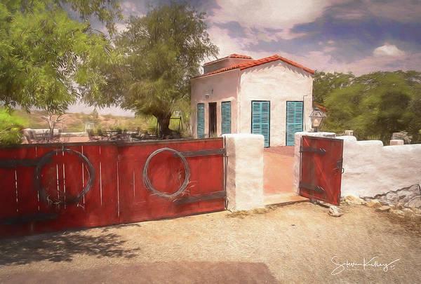 Digital Art - Ranch Family Homestead by Steve Kelley