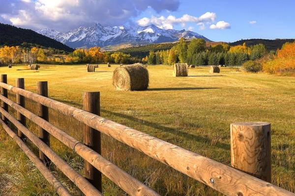 Wall Art - Photograph - Ranch Fence 17 by David Ross
