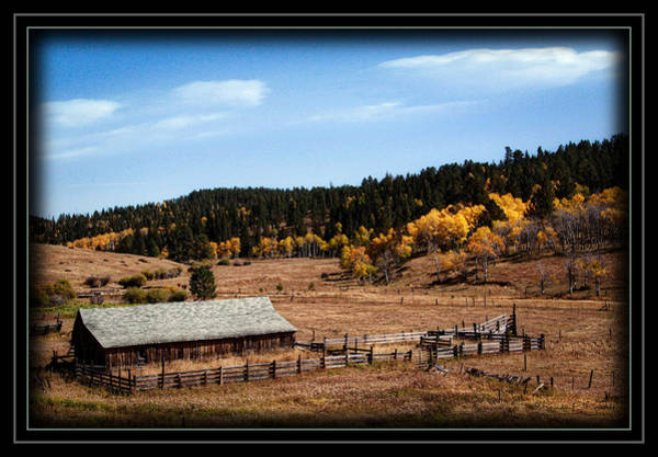 Wall Art - Photograph - Ranch In The Valley by Brenda D Busskohl