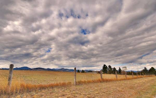 Photograph - Ranch Land Along The Mountains by Angie Tirado