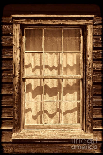 Photograph - Ranch Window  by American West Legend By Olivier Le Queinec
