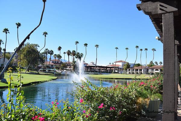 Painting - Rancho Las Palmas Golf Course 2 by Barbara Snyder