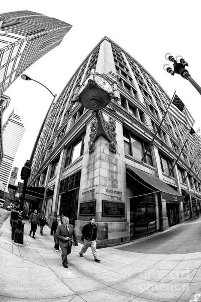 Photograph - Randolph And State Street Chicago by John Rizzuto
