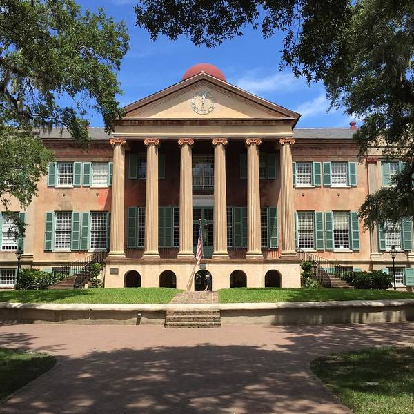 Charleston Photograph - Randolph Hall by Greg Joens