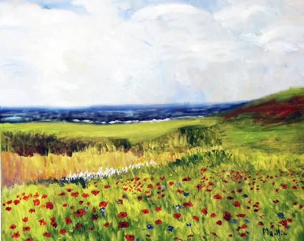 Painting - Random Beauty by Michael Helfen