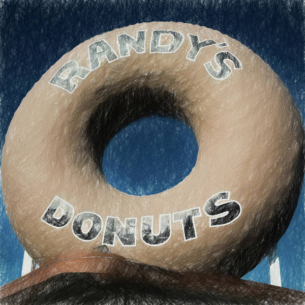 Wall Art - Photograph - Randy's Donuts - 1 by Stephen Stookey