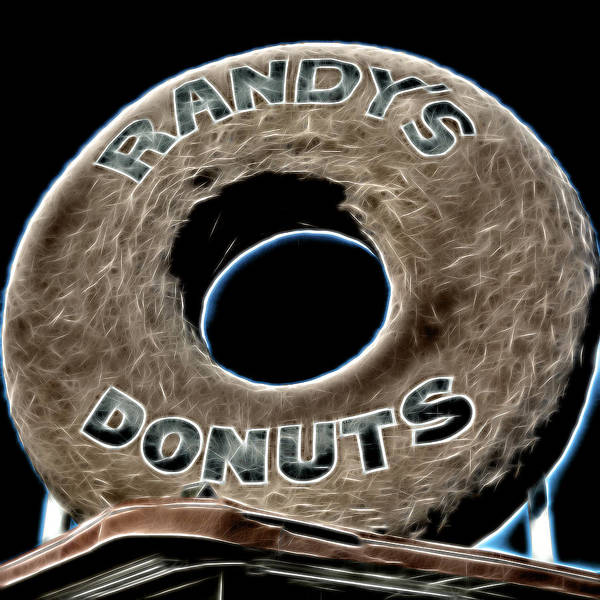 Wall Art - Photograph - Randy's Donuts - 11 by Stephen Stookey