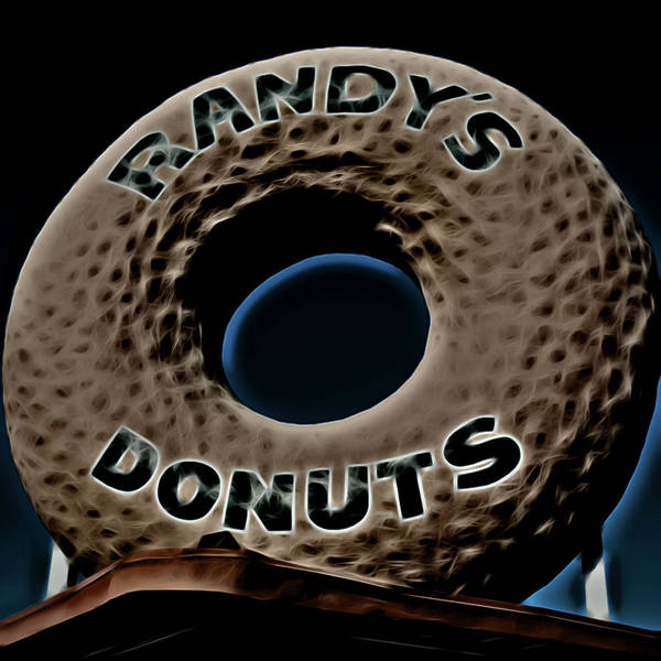Wall Art - Photograph - Randy's Donuts - 13 by Stephen Stookey
