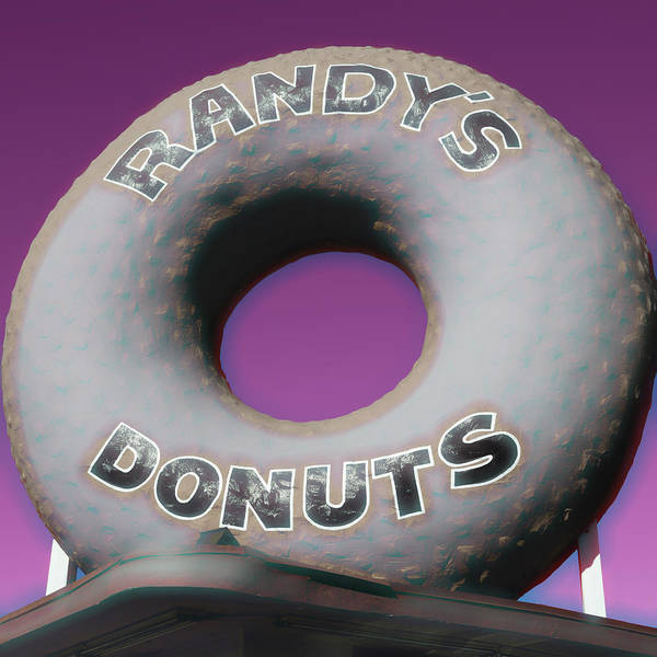 Wall Art - Photograph - Randy's Donuts - 14 by Stephen Stookey
