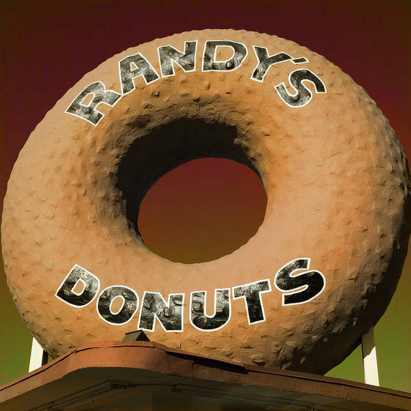 Wall Art - Photograph - Randy's Donuts - 2 by Stephen Stookey