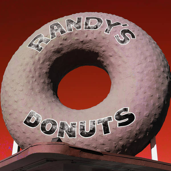 Wall Art - Photograph - Randy's Donuts - 3 by Stephen Stookey