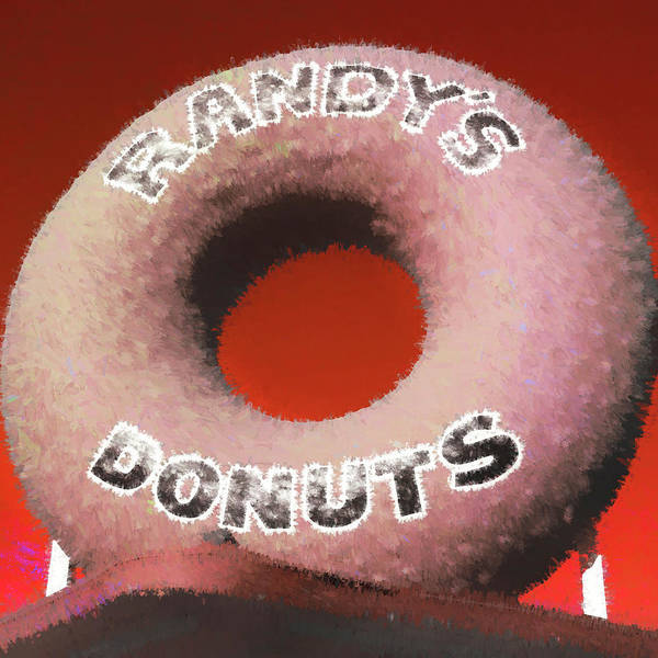 Wall Art - Photograph - Randy's Donuts - 4 by Stephen Stookey