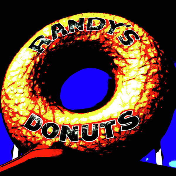 Wall Art - Photograph - Randy's Donuts - 6 by Stephen Stookey