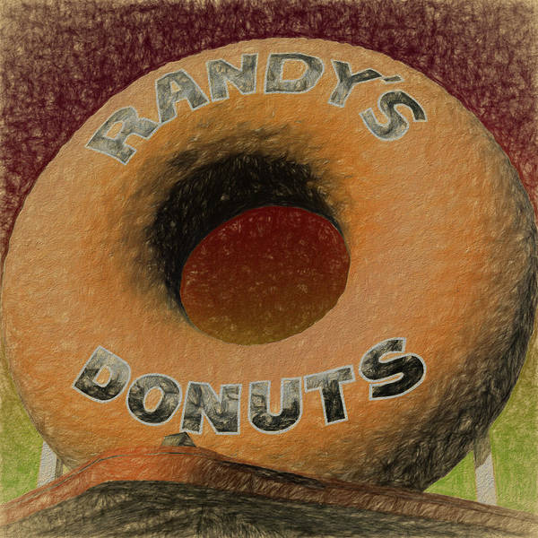 Wall Art - Photograph - Randy's Donuts - 7 by Stephen Stookey