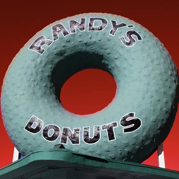 Wall Art - Photograph - Randy's Donuts - 9 by Stephen Stookey