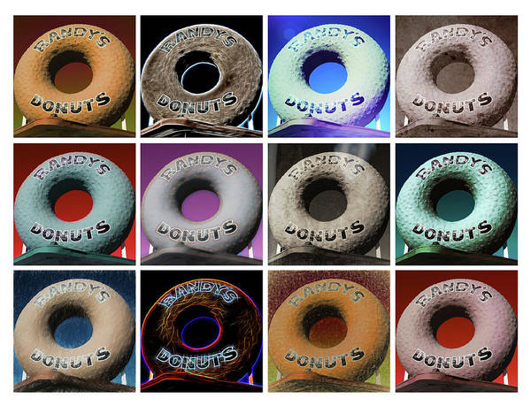 Wall Art - Photograph - Randy's Donuts - Dozen Assorted by Stephen Stookey