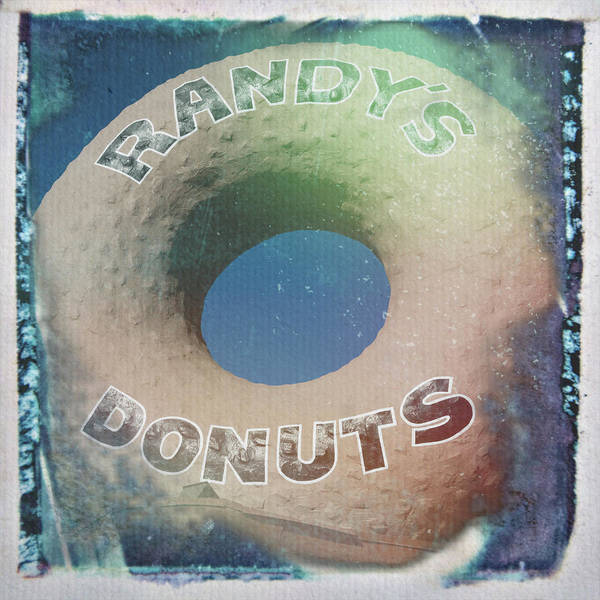 Wall Art - Photograph - Randy's Donuts - Old Polaroid by Stephen Stookey