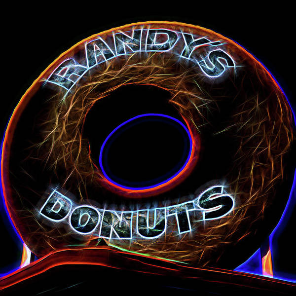 Wall Art - Photograph - Randy's Donuts - 5 by Stephen Stookey