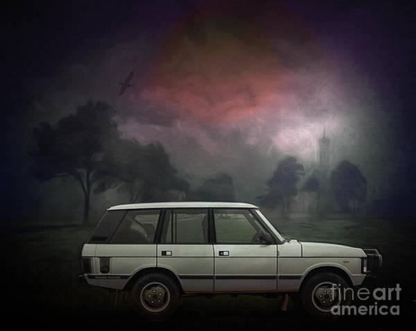 Digital Art - Range Rover 1993 by Edmund Nagele