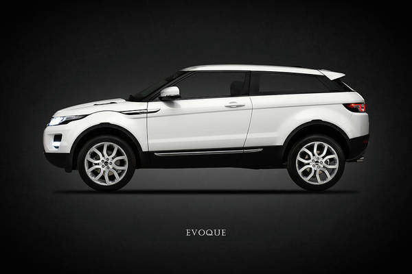 Land Mark Photograph - Range Rover Evoque by Mark Rogan