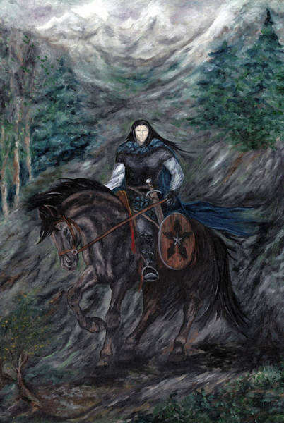 Painting - Ranger Of The North Branch by FT McKinstry
