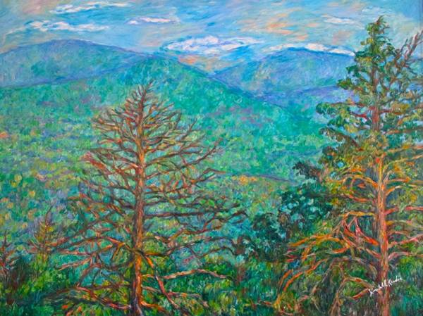 Painting - Ranges By Arnold Valley by Kendall Kessler