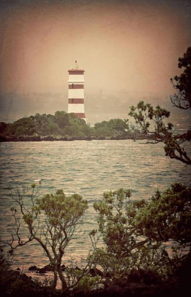 Photograph - Rangitoto Lighthouse New Zealand by Joan Carroll