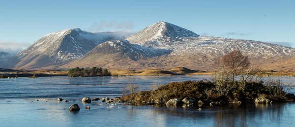 Frost Digital Art - Rannoch Moor, Scotland by Pat Speirs