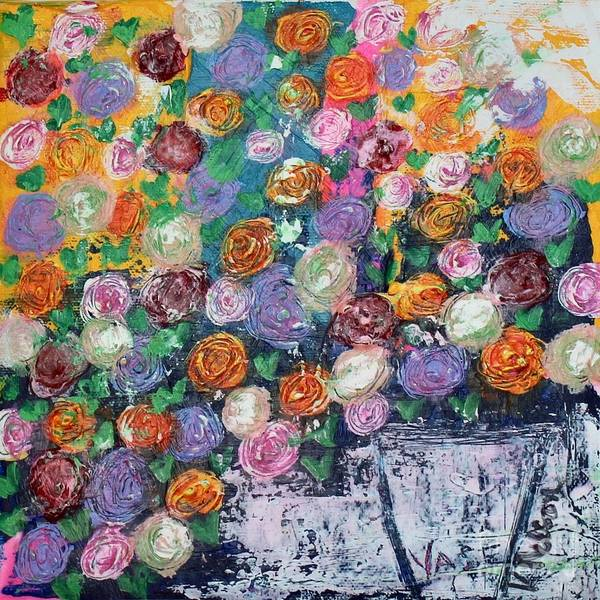 Painting - Ranunculus Riot by Kim Nelson