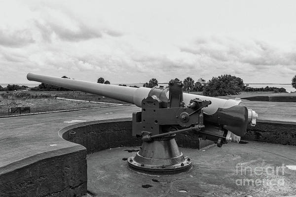 Photograph - Rapid Fire Gun by Dale Powell