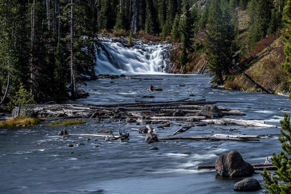 Wall Art - Photograph - Rapids In Yellowstone by Paul Freidlund
