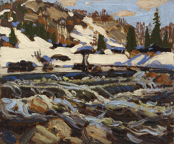 Painting - Rapids by Tom Thomson