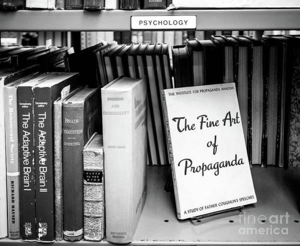 Photograph - Rare And Antiquarian Books, Boston, Massachusetts  -16764-bw by John Bald