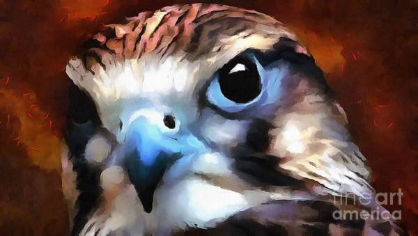 Painting - Rare Bird Heavy Paint by Catherine Lott