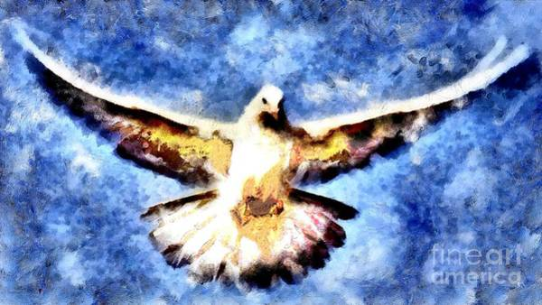 Painting - Rare Dove  by Catherine Lott