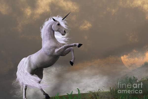 Unicorn Horn Digital Art - Rare Earth by Corey Ford