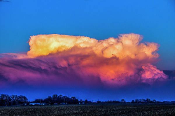 Photograph - Rare Tornadic Supercells In Nebraska 025 by NebraskaSC
