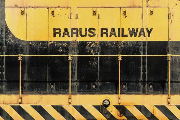 Wall Art - Photograph - Rarus Railway by Todd Klassy