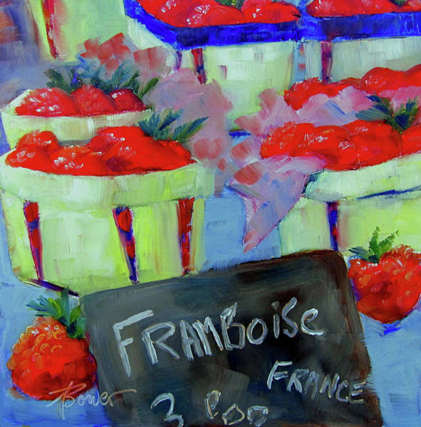 Painting - Raspberries Provencal  by Adele Bower