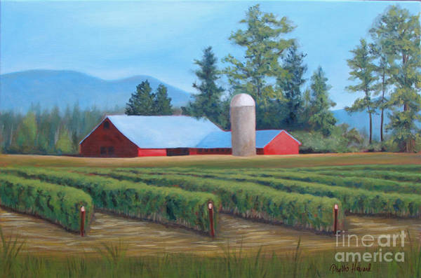 Painting - Raspberry Fields Forever by Phyllis Howard
