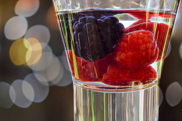 Wall Art - Photograph - Raspberry Vodka by Michel Emery