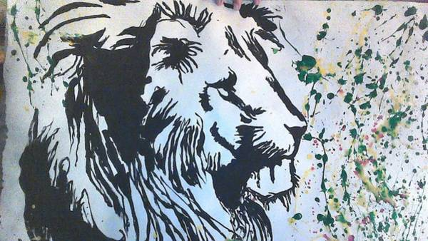 God Wall Art - Photograph - Rasta Tiger by Love Art Wonders By God