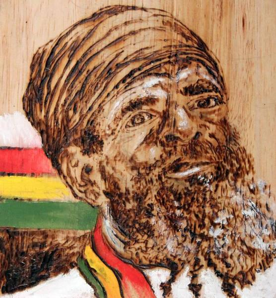 Painting - Rastaman by Richard Jules